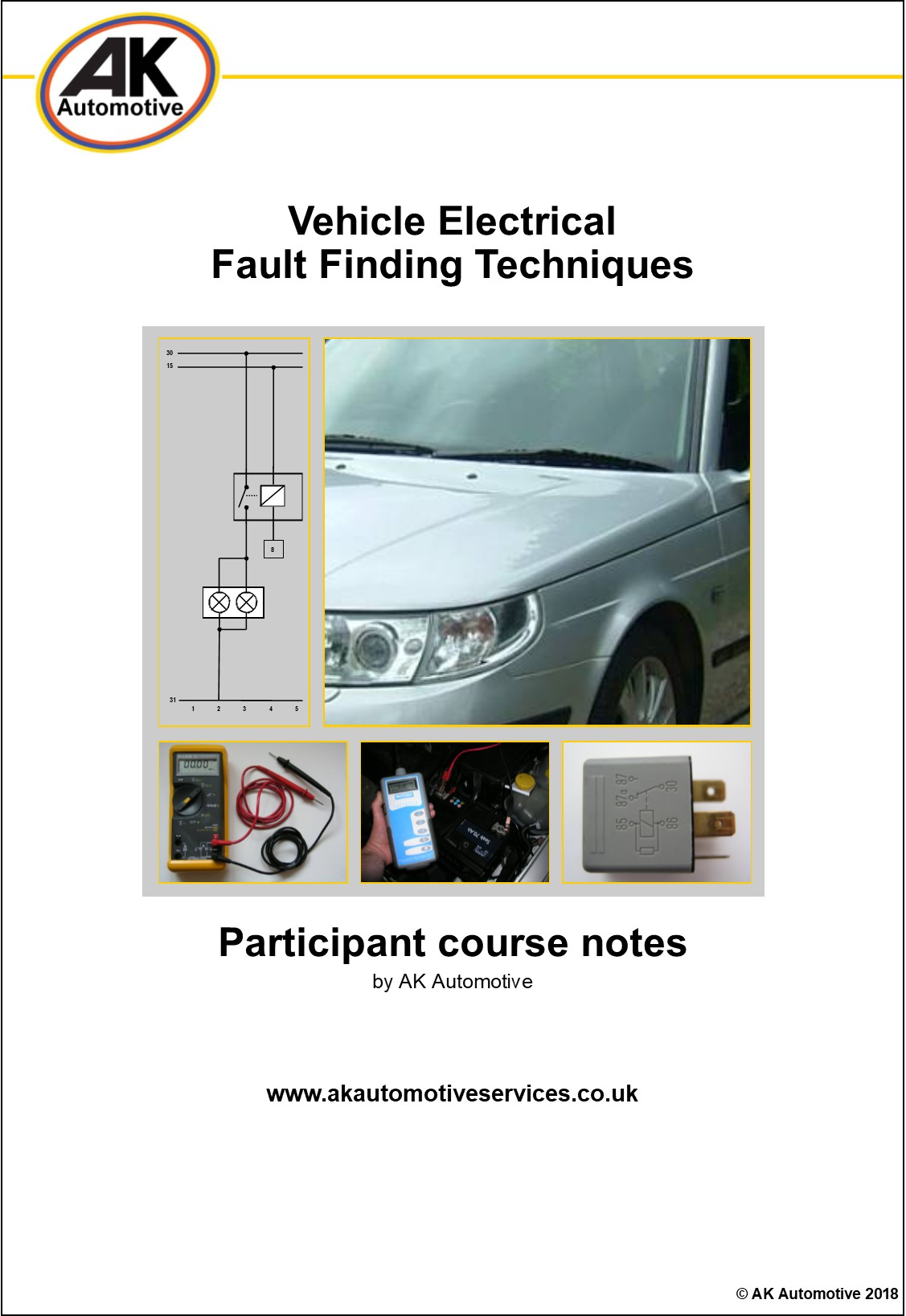 Ak Automotive Vehicle Electrical Fault Finding Auto